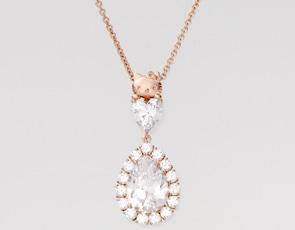 ピンク(地色)×ホワイト(石)