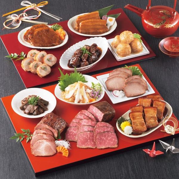 「賛否両論」肉惣菜おせちA&Bセット