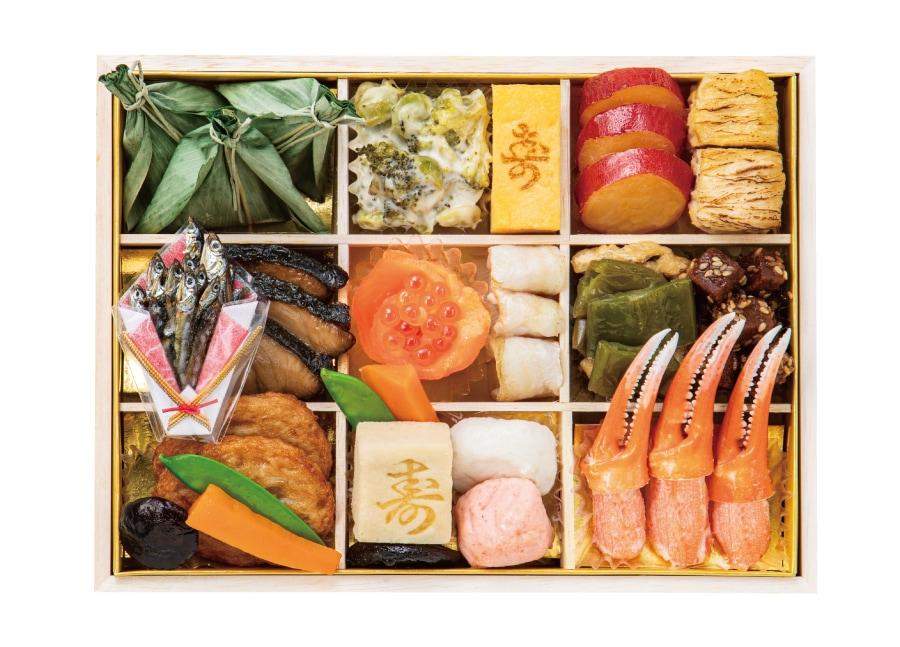 京都祇園「山玄茶」監修 和風おせち三段重