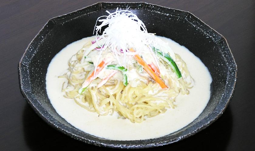 あわの麺でつくる里の幸野菜たっぷりスープパスタ