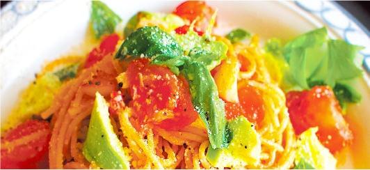 [写真]雑穀麺のレシピのイメージ
