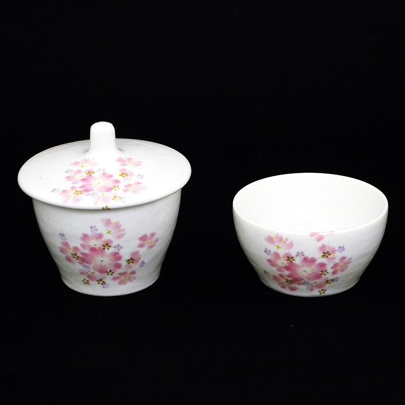 磁器製仏茶器セット「和桜」の商品画像1