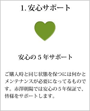 1.安心サポート