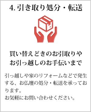 4.引き取り処分・転送