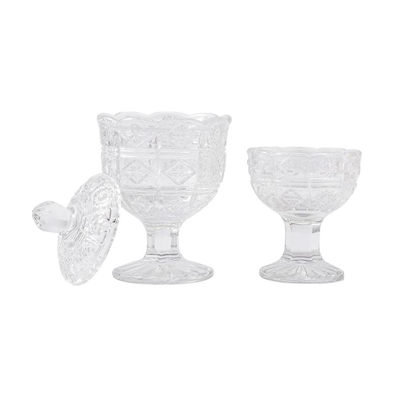 ボヘミアン クリスタル仏茶器セットの商品画像1
