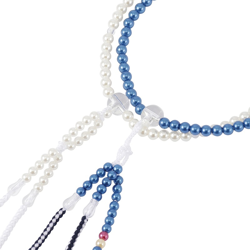 グラデーション・パール念珠(ブルー)の商品画像2