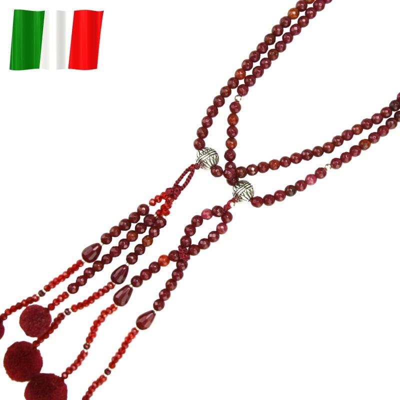 イタリア念珠(レッドアップ)の商品画像