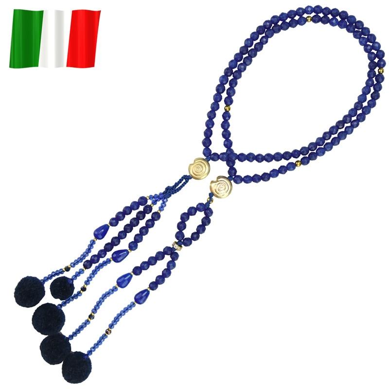 イタリア念珠(ブルー)の商品画像