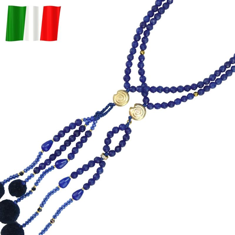 イタリア念珠(ブルーアップ)の商品画像