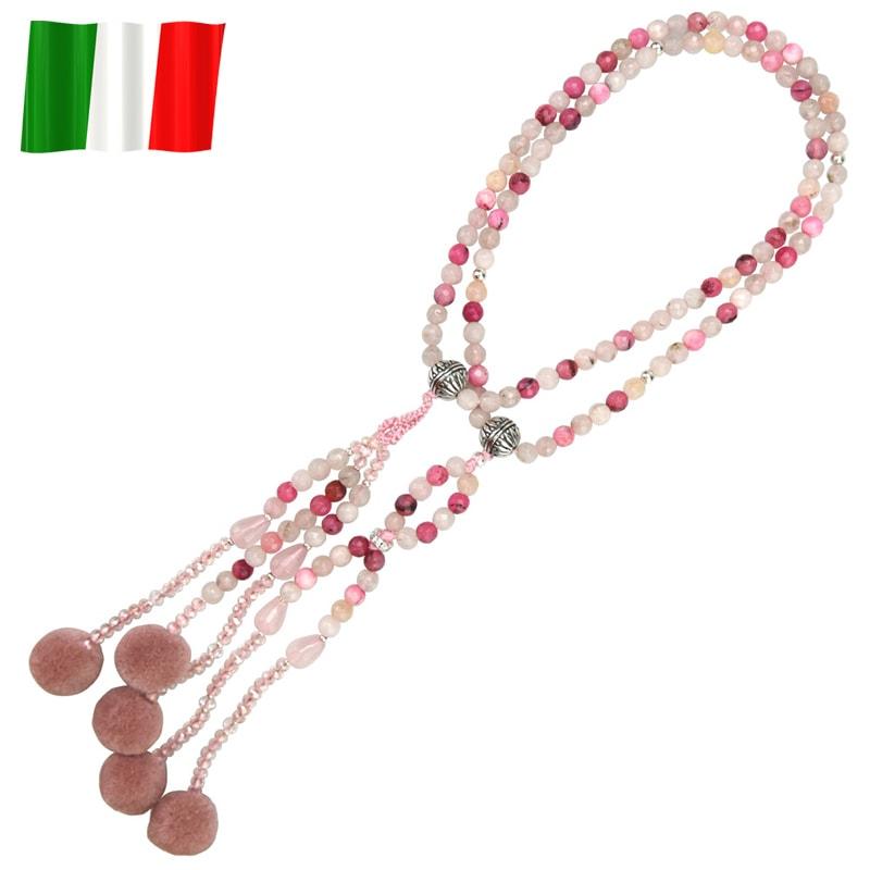 イタリア念珠(ピンク)の商品画像