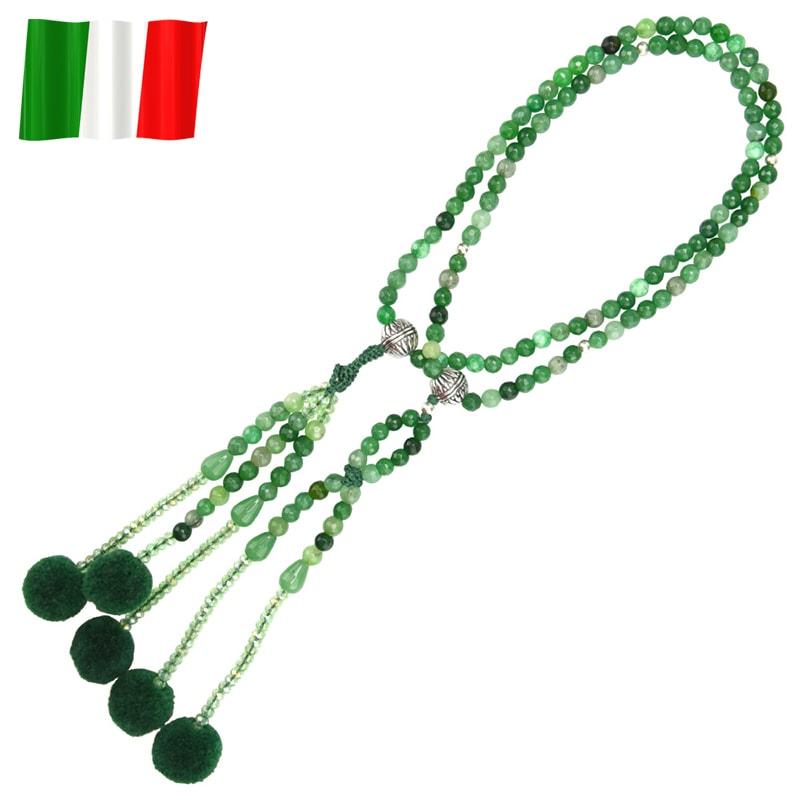 イタリア念珠(グリーン)の商品画像