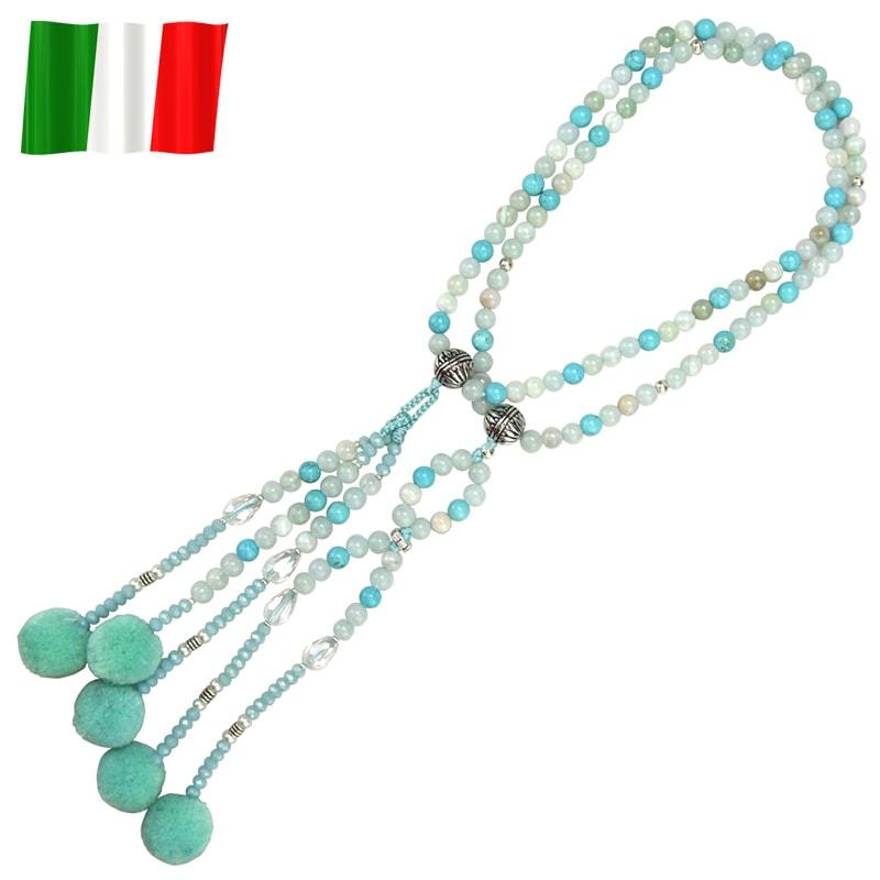 イタリア念珠(ターコイズ)の商品画像