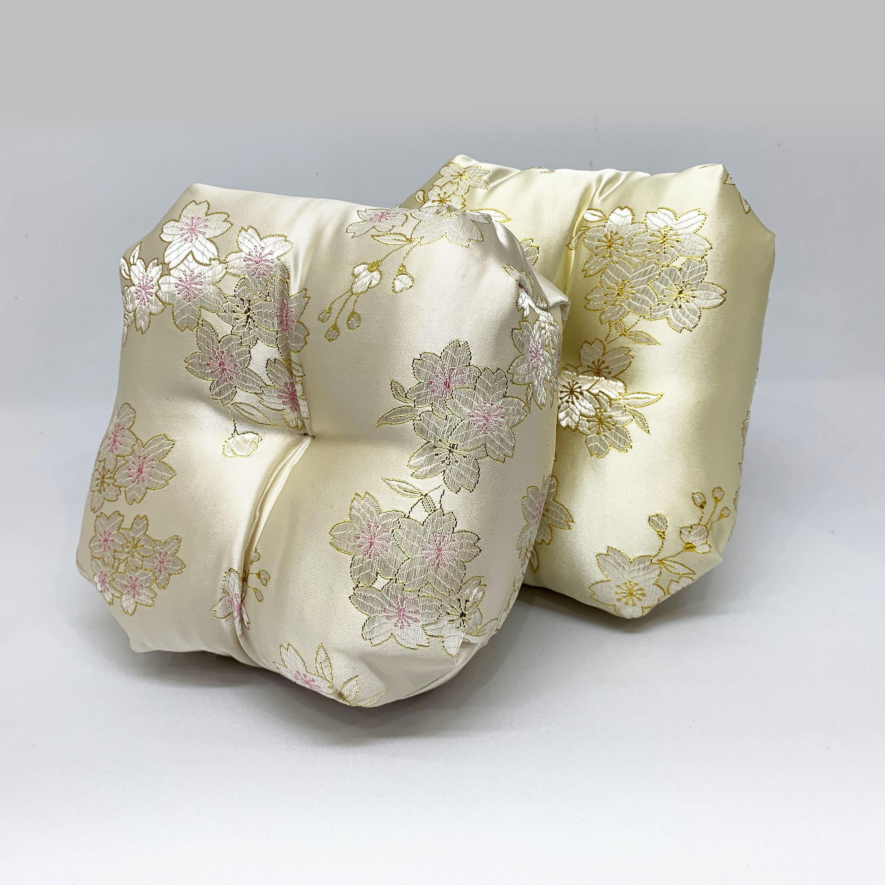 桜柄りん布団(ベージュ)の商品画像2