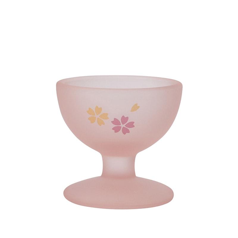 くもりガラス 仏器(ピンク)の商品画像1