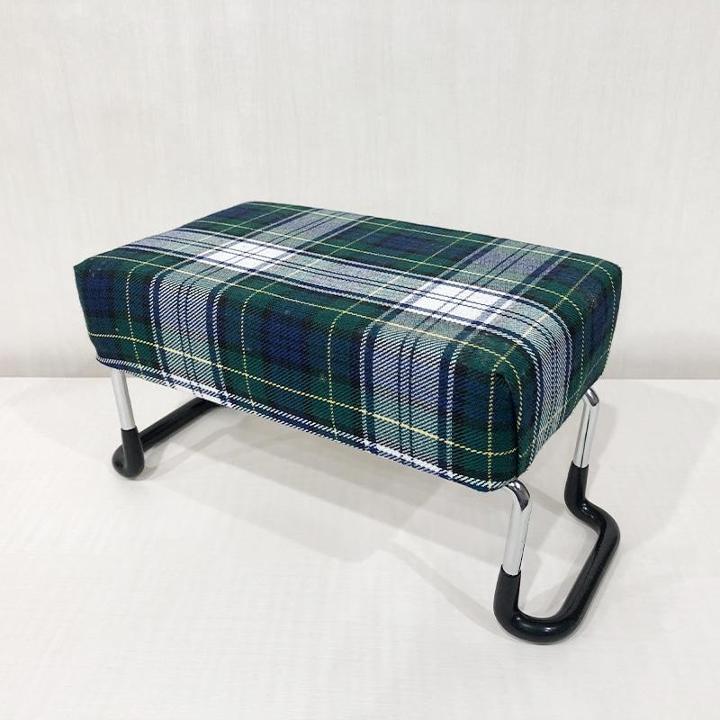 らくらく椅子・チェック柄の商品画像サムネイル1