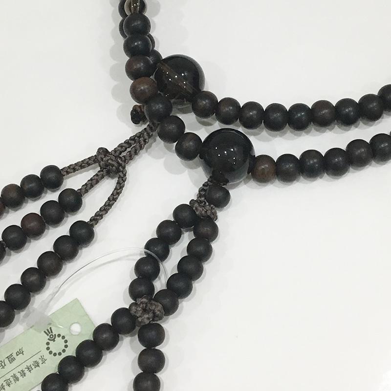 縞黒檀×茶水晶(ねず茶仕様)の商品画像2