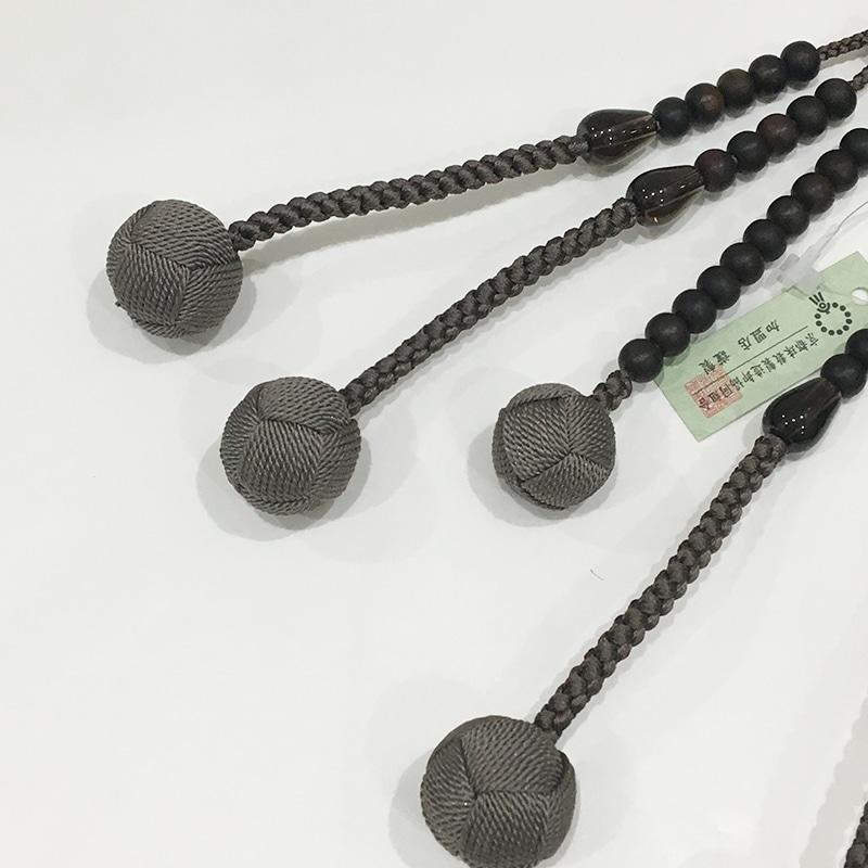 縞黒檀×茶水晶(ねず茶仕様)の商品画像3
