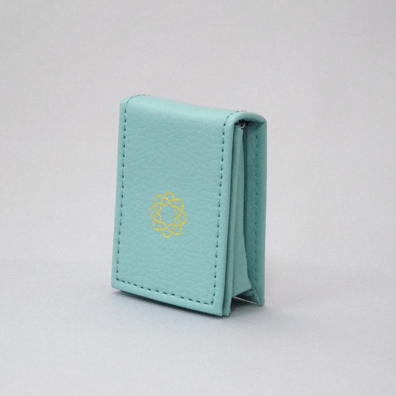 御守りレザーケース(ブルー)の商品画像1