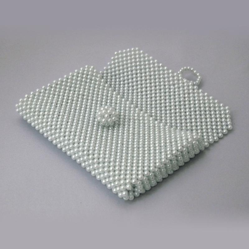ビーズ念珠ケース(アイボリー)の商品画像2