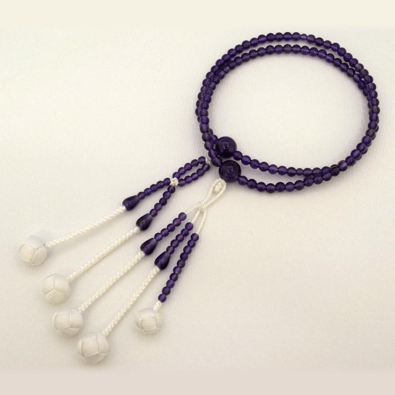 紫水晶念珠の商品画像1