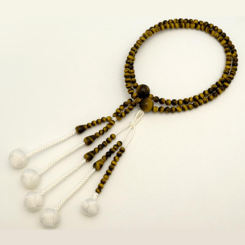 虎目石念珠の商品画像1
