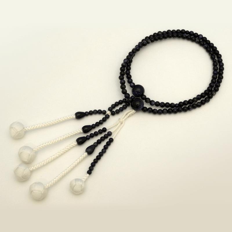 紫金石(しきんせき)念珠の商品画像1