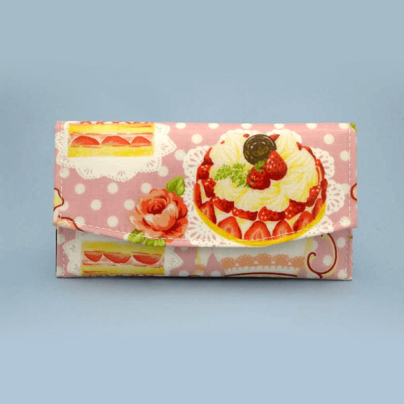 ケーキ柄念珠ケース 【ピンク】の商品画像1