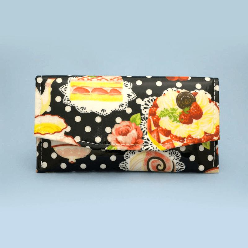 ケーキ柄念珠ケース 【ブラック】の商品画像1