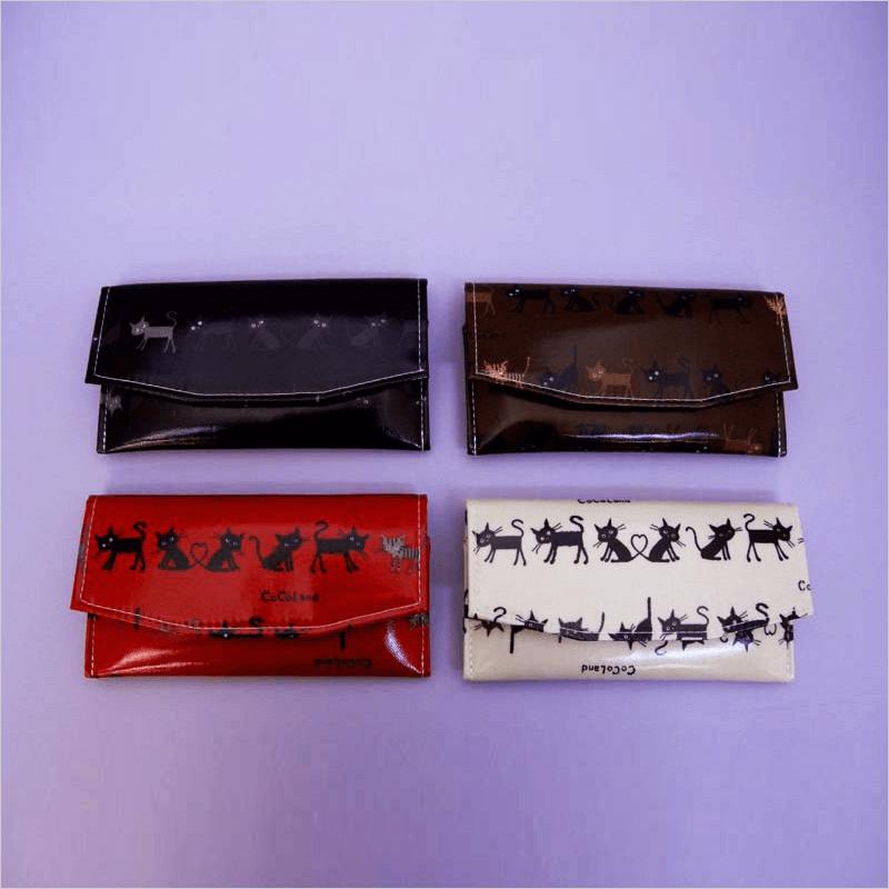 黒猫柄念珠ケースの商品画像1