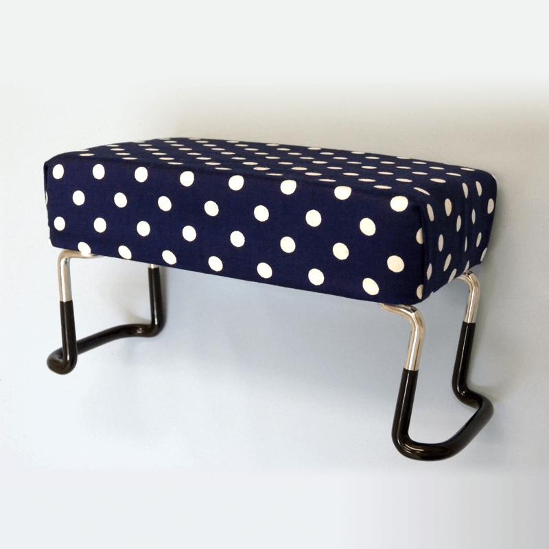 らくらく椅子・水玉柄の商品画像1