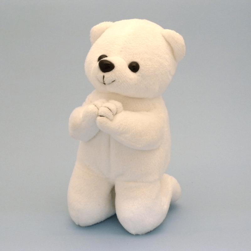 唱題白くまさん(小)の商品画像1