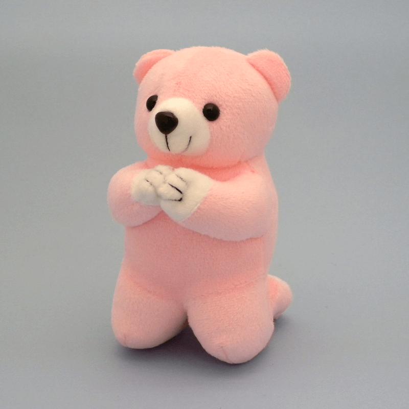 唱題くまさんピンク(小)の商品画像1