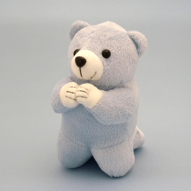 唱題くまさんブルー(小)の商品画像1