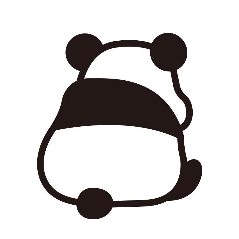 動物 ステッカー パンダ ぱんだ
