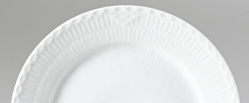 ホワイトフルーテッド ハーフレース