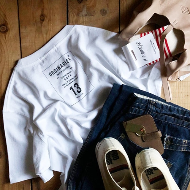 ORDS13 半袖ロゴ Tシャツ