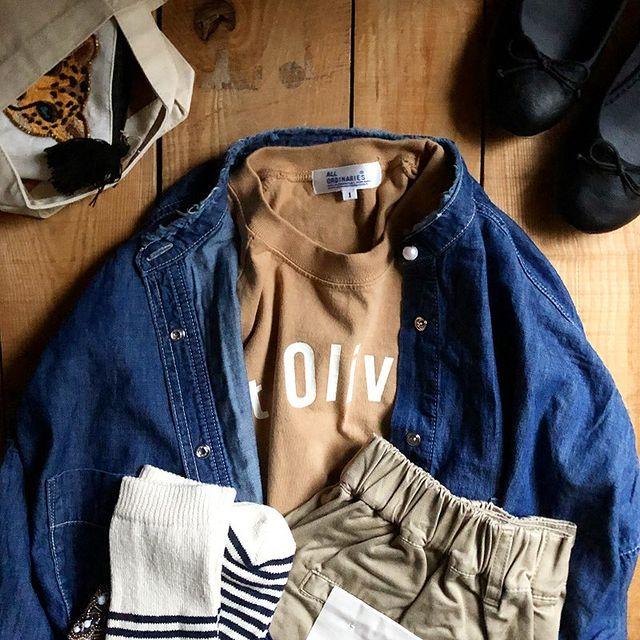 別注 反応染 Olivia ラグラン Tシャツ