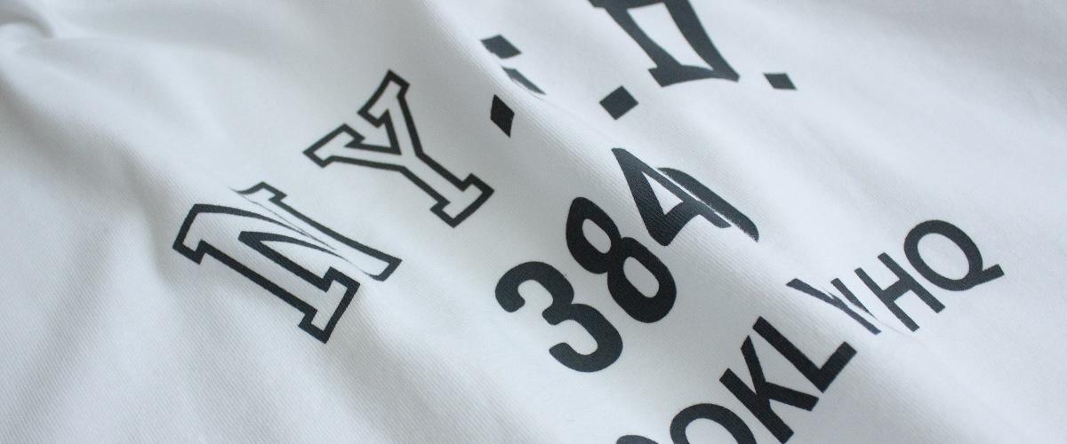 NY.F.D.3840 ビッグシルエット 半袖 Tシャツ