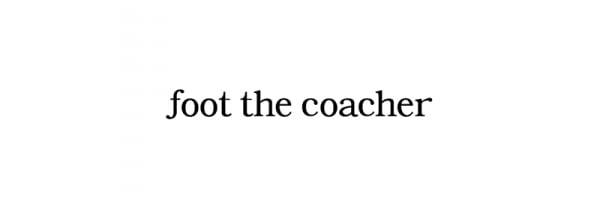 foot the coacher/フットザコーチャーの通販