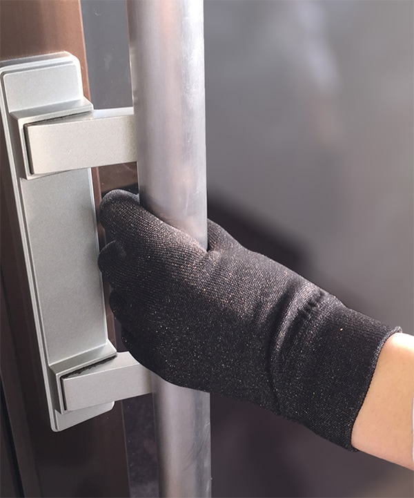 ドアの取っ手なども安心画像
