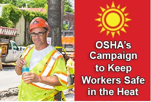 OSHA campaign banner