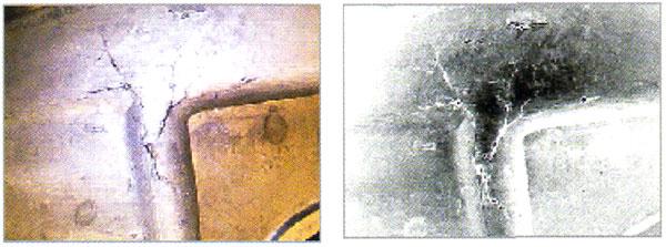 白黒反転表示機能の画像