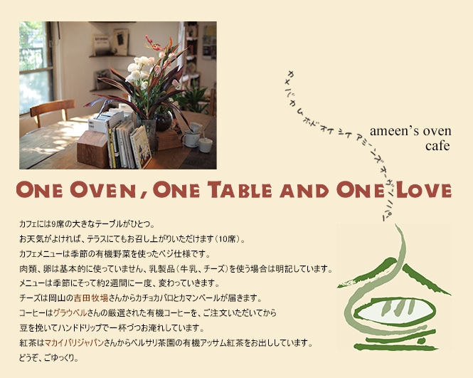 ameen's oven cafe