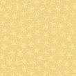 和風のくすんだ黄に小花のエンボス加工