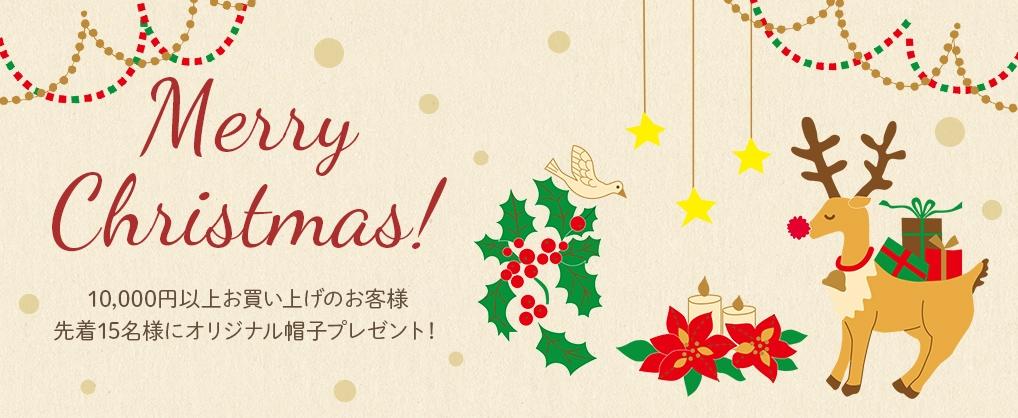 クリスマスキャンペーン!