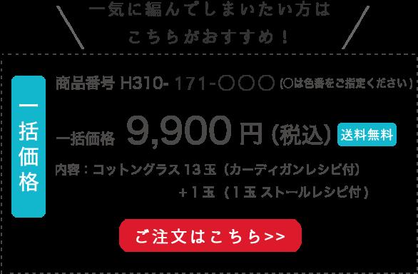 一括購入価格¥9,900円(税込)