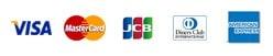 visa mastercard jcb amex diners