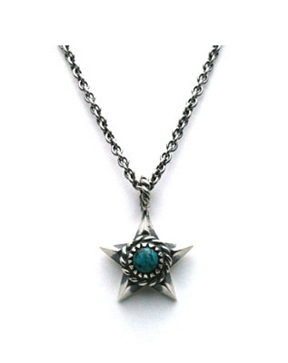 Native Star Necklace ターコイズ