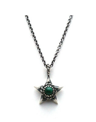 Native Star Necklace マラカイト