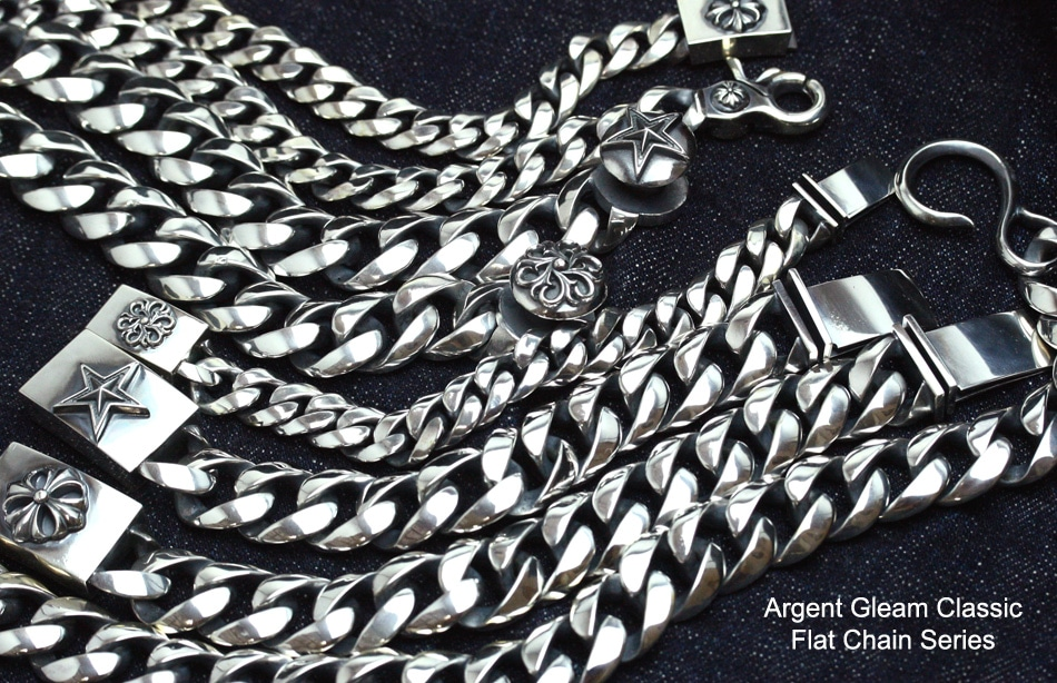 Argent Gleam Classic Flat Chain Series